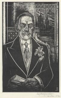 Sir (Joseph) Austen Chamberlain, by Stefan Mrozewski - NPG D4442