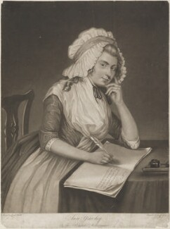 Ann Yearsley, by Joseph Grozer, after  Sarah Shiells, published 1787 - NPG D4452 - © National Portrait Gallery, London