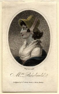 Anna Letitia Barbauld (née Aikin), by John Chapman, after  Unknown artist - NPG D4457