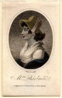 Anna Letitia Barbauld (née Aikin), by John Chapman, after  Unknown artist, published 1798 - NPG D4457 - © National Portrait Gallery, London