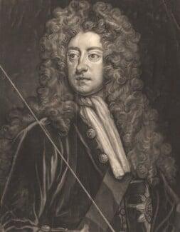 William Cavendish, 2nd Duke of Devonshire, by John Faber Jr, after  Sir Godfrey Kneller, Bt - NPG D4465