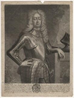 James Butler, 2nd Duke of Ormonde, by Peter Pelham, after  Sir Godfrey Kneller, Bt - NPG D4469