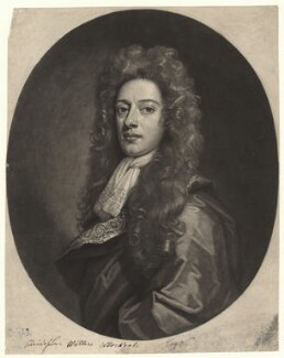 Christopher Walters Stockdale, by John Smith, after  Sir Godfrey Kneller, Bt - NPG D4476