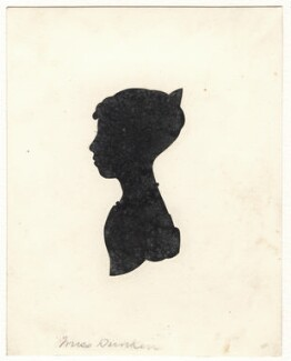 Probably Ellen Elizabeth Dunkin, by Unknown artist - NPG D449