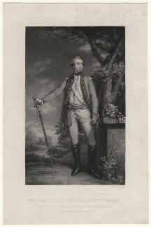 George Townshend, 2nd Marquess Townshend, by Frederick Bromley, after  Sir Joshua Reynolds - NPG D4491