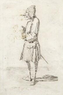 Thomas Bentley, by Pier Leone Ghezzi, 1725 or 1726 - NPG  - © National Portrait Gallery, London