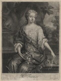 Diana Turnor (née Cecil), by Isaac Beckett, after  Sir Godfrey Kneller, Bt - NPG D4506
