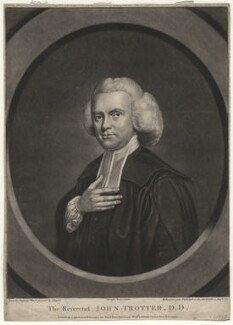 John Trotter, by Richard Houston, after  John Russell - NPG D4507