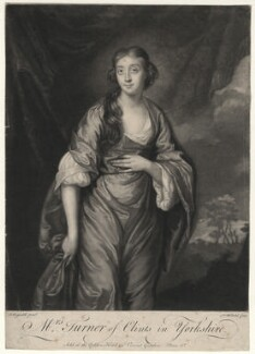 Elizabeth Turner (née Wombwell), by James Macardell, after  Sir Joshua Reynolds, (1757) - NPG D4512 - © National Portrait Gallery, London