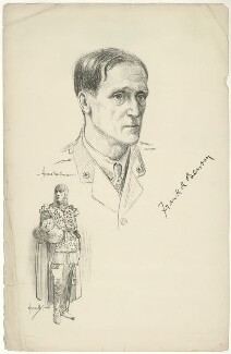 Frank Benson, after Howard van Dusen, and after  John Hassall - NPG D4530