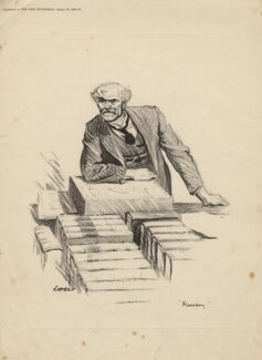 Ramsay MacDonald, after Sir David Low - NPG D4532