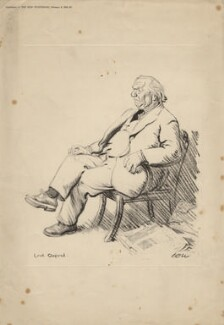Herbert Henry Asquith, 1st Earl of Oxford and Asquith, after Sir David Low - NPG D4534