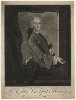 Sir George Vandeput, 2nd Bt, by Thomas Ryley, after  Unknown artist - NPG D4559