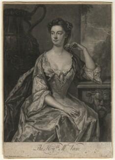 Anne Vane, by John Faber Jr, after  John Vanderbank - NPG D4563