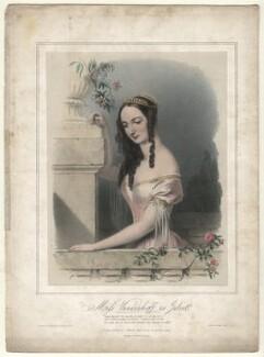 Charlotte Elizabeth Vandenhoff as Juliet in 'Romeo and Juliet', by Richard James Lane, printed by  M & N Hanhart, published by  John Mitchell, 1839 - NPG D4566 - © National Portrait Gallery, London