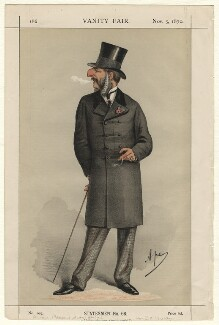 John Cranch Walker Vivian, by Carlo Pellegrini - NPG D4567