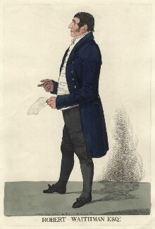 Robert Waithman, by and published by Richard Dighton - NPG D4580