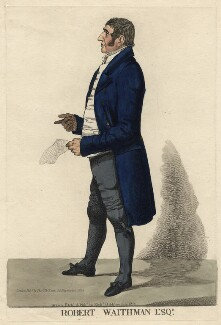 Robert Waithman, by and published by Richard Dighton - NPG D4581