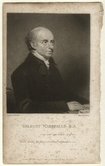 Gilbert Wakefield, by William Say, published by  Joseph Johnson, after  William Artaud - NPG D4584