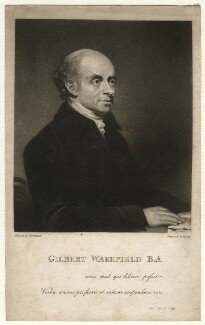 Gilbert Wakefield, by William Say, published by  Joseph Johnson, after  William Artaud, published 1 August 1804 - NPG D4585 - © National Portrait Gallery, London