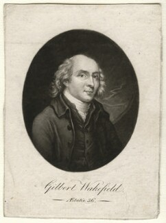 Gilbert Wakefield, by Robert Laurie, after  Unknown artist, circa 1792 - NPG D4589 - © National Portrait Gallery, London