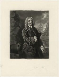 Edward Vernon, by Arthur N. Sanders, after  Thomas Gainsborough - NPG D4602