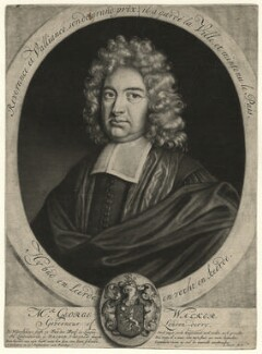 George Walker, by and published by Jacob Gole, after  Ludolf Smids - NPG D4603