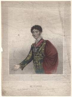 James Prescott Warde, by and published by William Thomas Fry, published by and after  T. Langdon - NPG D4624