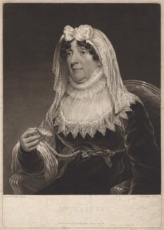 Mrs Waters, by Charles Turner, after  James Ramsay - NPG D4633