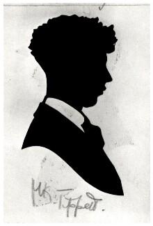Sir Michael Kemp Tippett, by Hubert John Leslie, 1920s-1940s - NPG D466 - © National Portrait Gallery, London