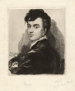Sir George Hayter, by Sir George Hayter, 1822 - NPG D4669 - © National Portrait Gallery, London