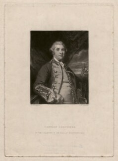 George Edgcumbe, 1st Earl of Mount Edgcumbe, by Samuel William Reynolds, published by  Hodgson & Graves, after  Sir Joshua Reynolds - NPG D4671