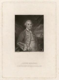 George Edgcumbe, 1st Earl of Mount Edgcumbe, by Samuel William Reynolds, after  Sir Joshua Reynolds - NPG D4672