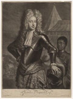 Sir Charles Napier, 2nd Bt, by and published by John Smith, after  J. Sommer, 1700 - NPG D4680 - © National Portrait Gallery, London