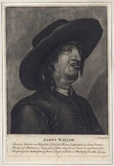 James Nayler, by Thomas Preston, after  Francis Place - NPG D4682