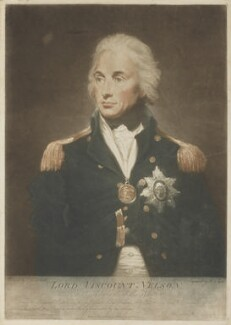 Horatio Nelson, by R.S. Syer, after  Lemuel Francis Abbott - NPG D4684