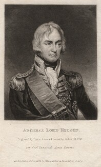 Horatio Nelson, by Charles Turner, after  Robert Bowyer - NPG D4686