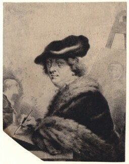 Thomas Worlidge, by Thomas Worlidge, 1754 - NPG D4691 - © National Portrait Gallery, London