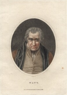 James Watt, by J. Pass, after  Auguste Hervieu, 1828 - NPG D4698 - © National Portrait Gallery, London