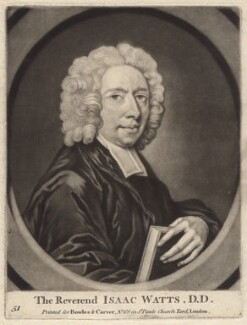 Isaac Watts, published by Bowles & Carver, after  George White - NPG D4701