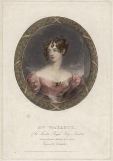 Harriet Waylett, by Thomas Hodgetts, after  Frederick Meyer - NPG D4706