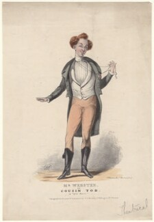 Benjamin Nottingham Webster as Cousin Tod in 'Open House', by and published by George Edward Madeley - NPG D4716