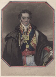 Arthur Wellesley, 1st Duke of Wellington, by Henry Richard Cook, after  Robert Scanlan - NPG D4727