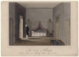 Arthur Wellesley, 1st Duke of Wellington, by T.H. Ellis, after  F. Shephard - NPG D4730