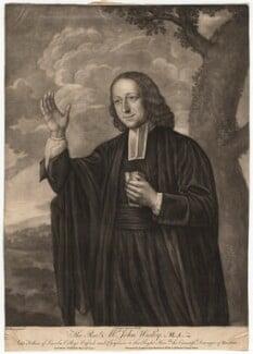 John Wesley, after Nathaniel Hone, published 1770 - NPG D4740 - © National Portrait Gallery, London