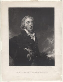 John Fane, 10th Earl of Westmorland, by Samuel William Reynolds, and by  Samuel Cousins, after  Sir Thomas Lawrence - NPG D4755