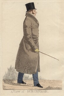 John Fane, 11th Earl of Westmorland ('A view of Burghersh'), by and published by Richard Dighton, reissued by  Thomas McLean - NPG D4756