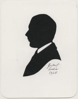 Sir Cedric Webster Hardwicke, by Hubert Leslie - NPG D477
