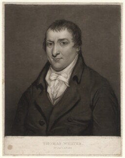 Thomas Whiter, by George Clint, after  Richard Parkes Bonington - NPG D4770