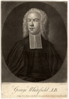 George Whitefield, by John Faber Jr, published by  James Hutton, after  G. Beard - NPG D4776